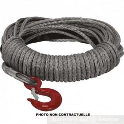 Corde de Treuil Synthétique T-MAX Ø8.6mm x 24m