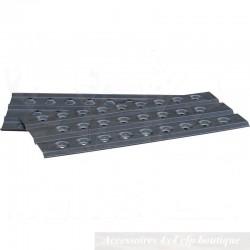 Plaques à Sable Aluminium T-MAX 1000 x 450mm (paire)