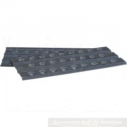 Plaques à Sable Aluminium T-MAX 1500 x 450mm (paire)