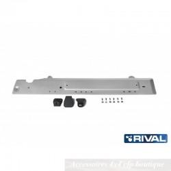 Protection Alu 4mm RIVAL Durites Carburant Dacia Duster
