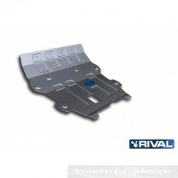Protection Alu 4mm RIVAL Moteur + Boite de Vitesse Dacia Duster