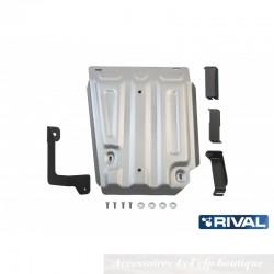 Protection Alu 4mm RIVAL Réservoir Dacia Duster I et II