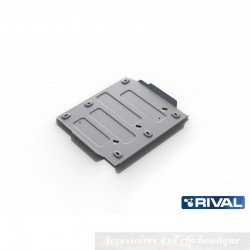 Protection Alu 6mm RIVAL Boite de Transfert Ford Ranger 2015+ 3,2 (Euro6)