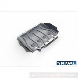 Protection Alu 6mm RIVAL Radiateur Ford Ranger 2012-2015 et 2016+ 2,2 et 3,2