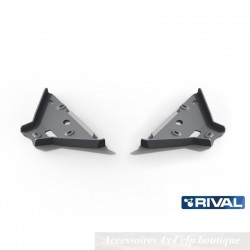Protection Alu 6mm RIVAL Triangles Avant Ford Ranger 2015+ 3,2