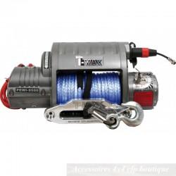 Treuil T-MAX EWI-9500S 4300kg 12v EWI Series Avec Câble Synthétique
