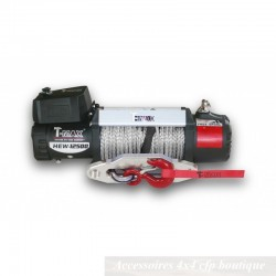 Treuil T-MAX XP-12500S 5665kg 12v XPower Series Avec Câble Synthétique