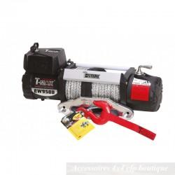 Treuil T-MAX XP-9500S 4305kg 12v XPower Series Avec Câble Synthétique
