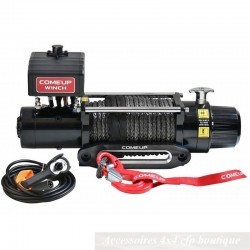 Treuil COMEUP DV9S 12v 4082kg Avec Câble Synthétique