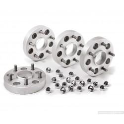 Elargisseurs de Voie Aluminium HOFMANN 25mm Range Rover Evoque (kit de 4)