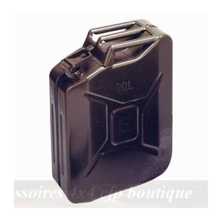 Jerrycan US 20 litres noir