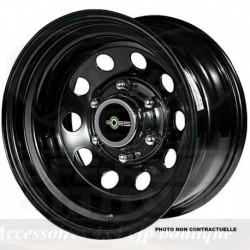 Jante GOSS Modular II Black 8x17 6x139.7 CB110 ET-10 Profondeur 12,4cm. Noire