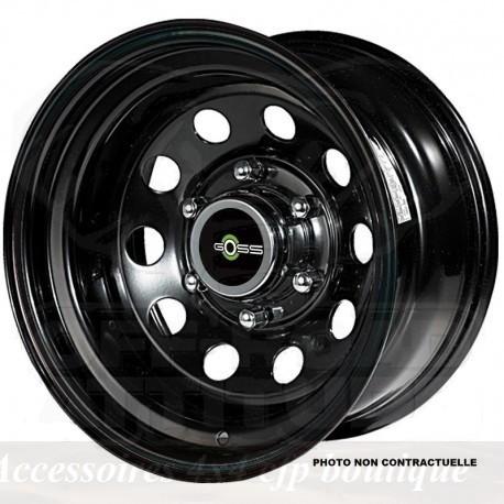 Jante GOSS Modular II Black 8x17 6x139.7 CB106.1 ET-10 Profondeur 12,4cm. Noire