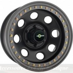 Jante GOSS Soft8 Beadlock 9x17 5x127 CB84 ET-44 Noire