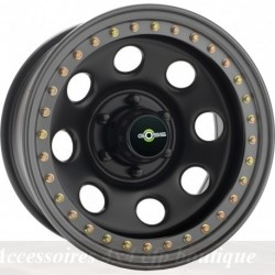 Jante GOSS Soft8 Beadlock 9x17 5x165.1 CB125 ET+6 Noire