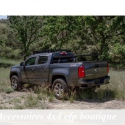 Galerie Aluminium FRONT RUNNER Slimline II pour benne de Chevrolet Colorado Roll Top 5.1 2015+